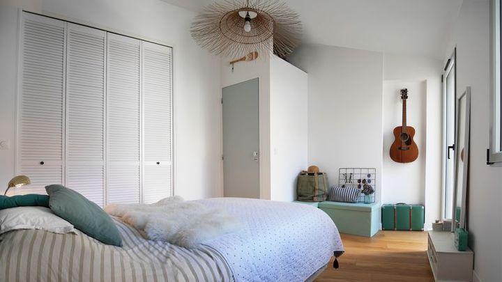 bordeaux sophie lamy rénovation architecture aménagement chambre parentale