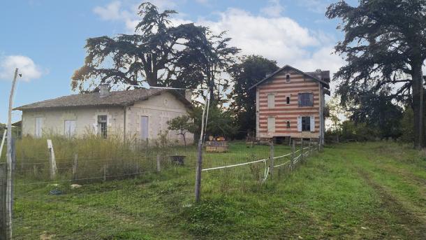 Estimation budget travaux pour la rénovation complète de ces maisons sur la commune de Portets
